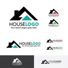 Real Estate Logo, House Logo, Resident Logo