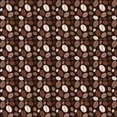 Coffee pattern vector kitchen