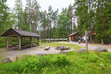 Visit Centre at Tiveden National Park in Sweden