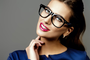 business style glasses