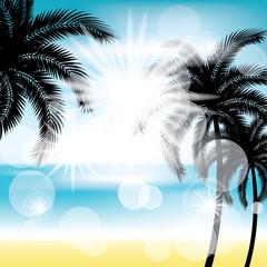 Summer Silhouette background