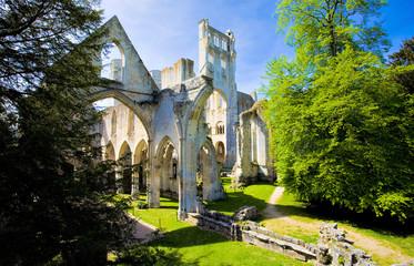L'abbaye Saint-Pierre de Jumièges, Seine-Maritime, Normandie
