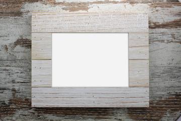 Blank frame in wood