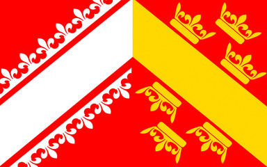 Flag of Alsace, France