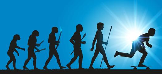 Skateur - Evolution