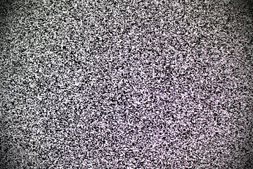 TV white noise on lcd screen