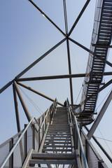 Treppe aufs Tetraeder