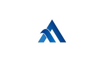logo, mountain, aa, arrow, style, solid, isolated, decoration, font, triangle