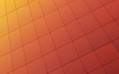 square warm background abstract art vector