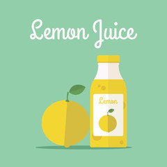 Lemon Juice Bottle
