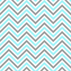 chevron white gray blue seamless pattern vector