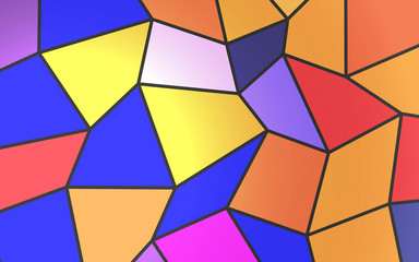 low poly colorful background abstract art vector