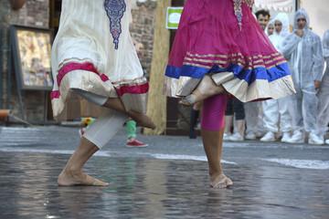 Festival di ballo, esibizione, ballerine