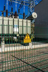 Stromwerk Achtung Hochspannung