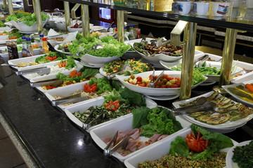 Self service comida árabe