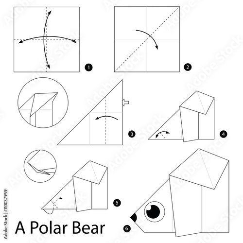 Admirable Step By Step Instructions How To Make Origami A Polar Bear Stock Wiring 101 Olytiaxxcnl