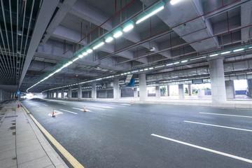 indoor road background