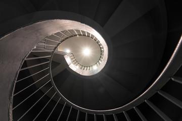 Keuken foto achterwand Trappen spiral stairs