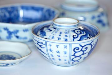 Antique Japanese Imari porcelain from the Edo era