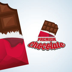 Chocolate design. sweet icon. dessert concept