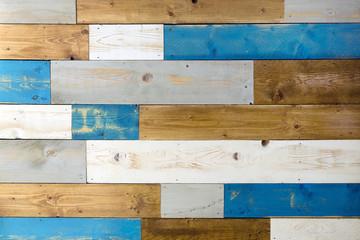 Foto: Texture di assi di legno colorati