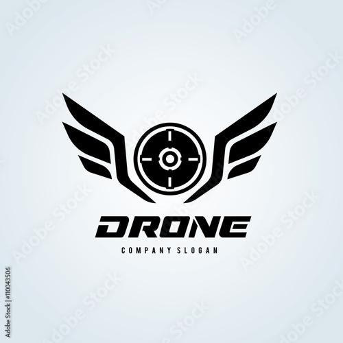 Drone logowing logogame logovector logo template stock image drone logowing logogame logovector logo template altavistaventures Images