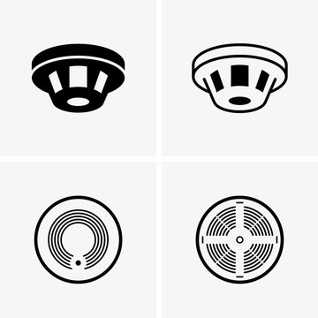 Smoke detectors, shade pictures