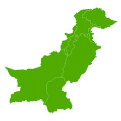 パキスタン 地図 国 アイコン