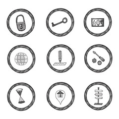 Vector set of icons part 5