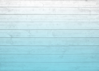 horizontal  panel  ombre blue  pale  pastel  wood