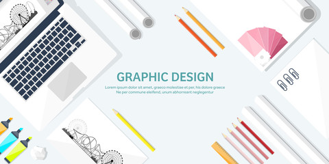 Graphic web design. Drawing and painting. Development. Illustration, sketching, freelance. User interface. UI. Computer, laptop.