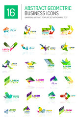 Abstract business icons