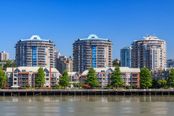 Residential area in New Westminster