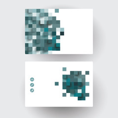Business cards Design. Vector Template layout.