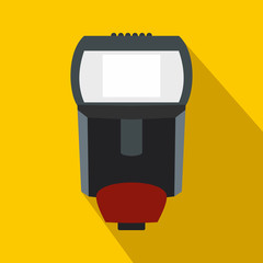 Remote flash icon, flat style