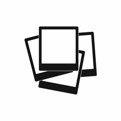 Photo frames icon, simple style