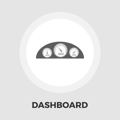 Dashboard flat icon