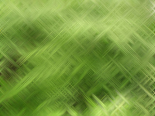 Abstract background in green tones