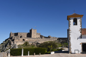 Church and Castle of Marvao, Alentejo region, Portugal