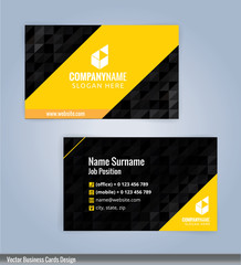 Modern Business Card Templates,Vectors 10