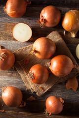 Raw Organic Yellow Onions