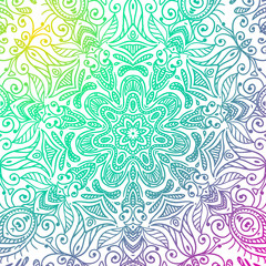 Mandala vector illustration.