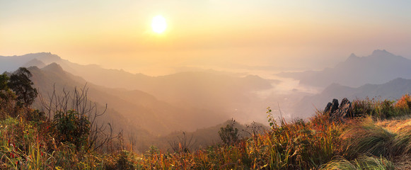 Phu Chi Fa panorama