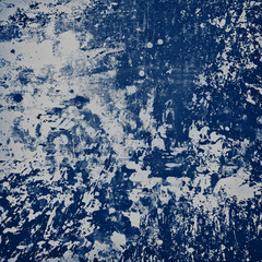 Wall Mural - splash of blue paint background