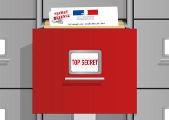 Secret Defense - Classeur Documents