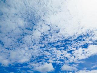 Blauer Wolken Himmel