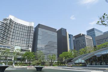 写真素材「和田倉噴水公園」
