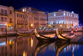 Aveiro city by night - Portugal
