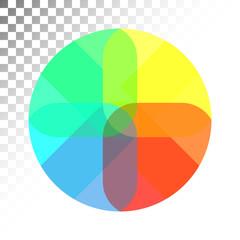 multi-colored sphere, Vector Illustration