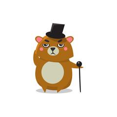 Gentelman Brown Bear